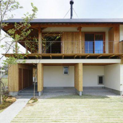 下山梨の家